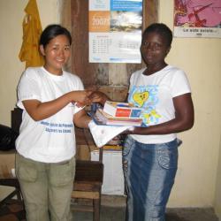 Lauréate du concours d'orthographe 2008