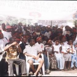 Les jeunes participants au JMS 2005